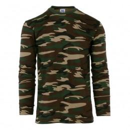 T-shirt manches longues : camo
