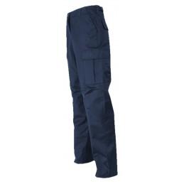 Pantalon treillis BDU bleu...
