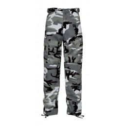 Pantalon BDU urbain gris...