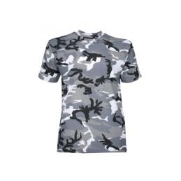 tee shirt enfant urbain gris