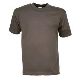 T-shirt enfant uni kaki