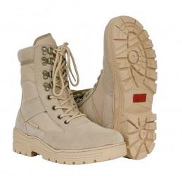 Chaussures de sniper beige