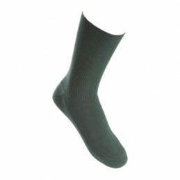 Chaussettes courtes vert...