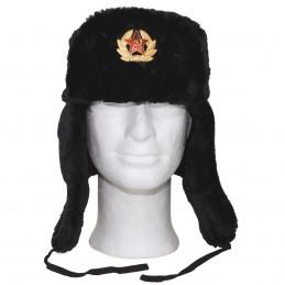 Chapka insigne RUSSE noire