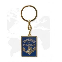 Porte clé métal troupe de...