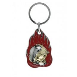 Porte clé métal SP flamme