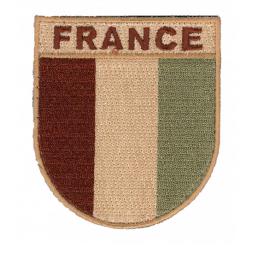 Ecusson France désert dos...