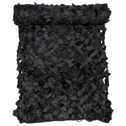 Filet de camouflage noir 2x3