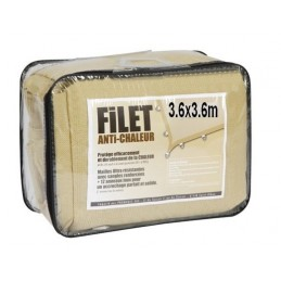 Filet anti chaleur 3.6x3,6 m