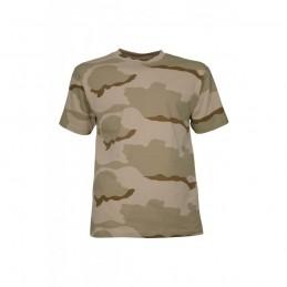 Tee shirt camouflage desert