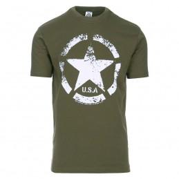 T-shirt Vintage étoile US Army
