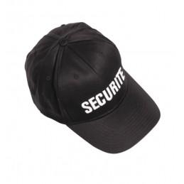 Casquette noire sécurité