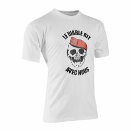tee shirt le diable rit...