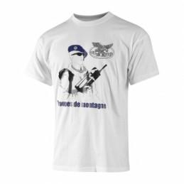 T-shirt troupes de montagne