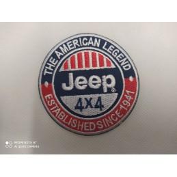 Ecusson 4x4 jeep
