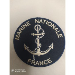 "Ecusson "" MARINE NATIONALE..."